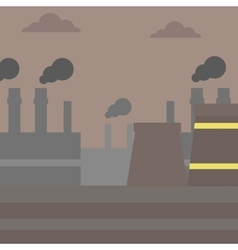 Industrial power plant vector