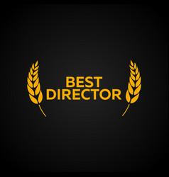 Best director laurel film awards winners film vector