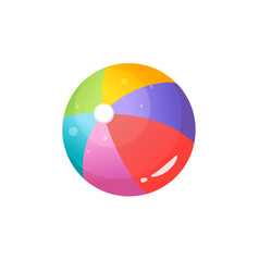 Colorful ball vector