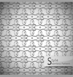 Eyes lattice monochrome vintage seamless pattern vector