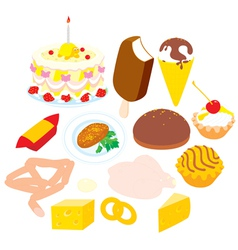 Foodstuffs vector