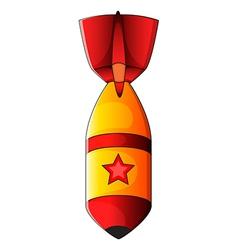 An explosive bomb vector