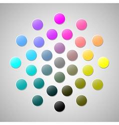 Cmyk colors 2 vector