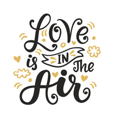 love is in the air vector image vector image
