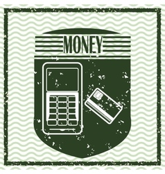 Money icons design vector