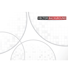 Mosaic and Circle abstract background vector image