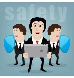 Secure vector image vector image