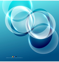 Shiny flowing abstraction vector