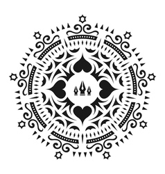 Ornament decoration ornate frame elegant element vector