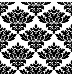 Damask style arabesque pattern vector image
