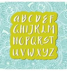 Unique alphabet vector