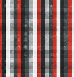 Abstract red lines seamless texture with grunge vector