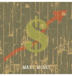 earnings grow up concept vector image