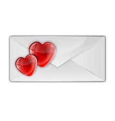 heart card vector image