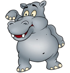 Hippo waving vector