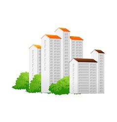 Icon apartment vector