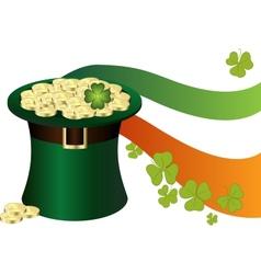 Saint Patricks Day Hat vector image