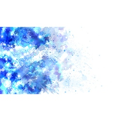 watercolor abstraction vector image