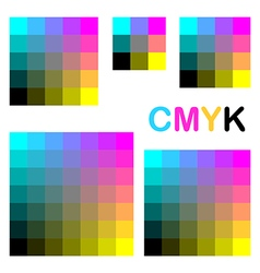 Cmyk colors 1 vector
