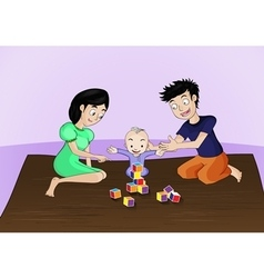 Family activities vector