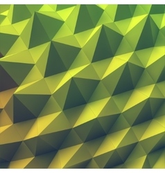 Abstract geometric polygonal background 3d vector