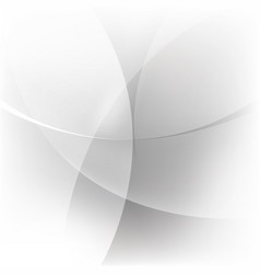 Abstract white and silver background vector