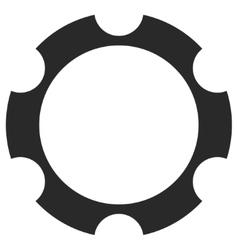 Gear wheel eps icon vector