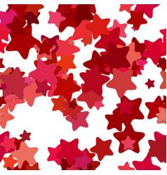 Seamless geometrical star background pattern - vector