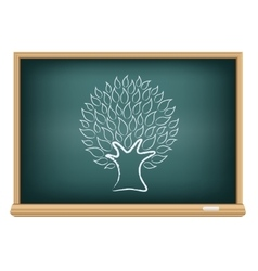 board tree vector image