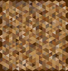 Brown color hexagon pattern background vector