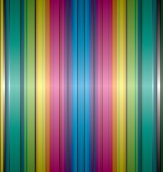 rainbow band background vector image vector image