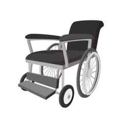 Wheelchair cartoon icon vector