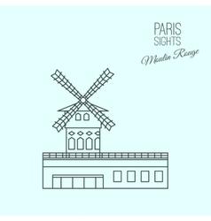 Paris Sights 05 A vector image