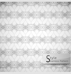 Abstract seamless pattern ribbon rope lattice vector