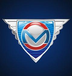 super emblem vector image