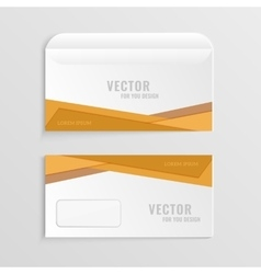 business envelopes vector image vector image
