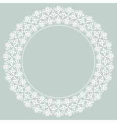 Damask pattern orient light ornament vector