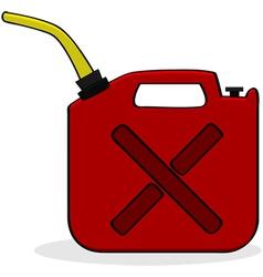Emergency fuel supply vector