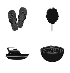 Food rest cafe and other web icon in black style vector