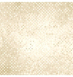 Vintage polka dots background vector