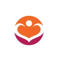 Community care logo vector