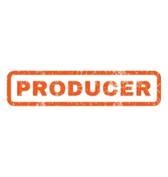 Producer rubber stamp vector