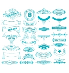 29 Banners set vector image