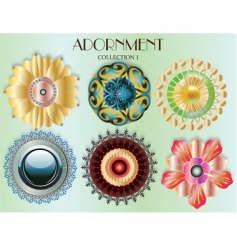 adornment vector image