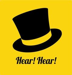 Hear hear vector