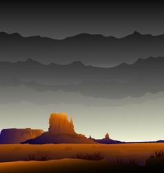 Monument valley-arizona vector
