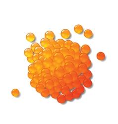 Red caviar vector
