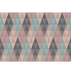 Triangles diamond seamless pattern vector