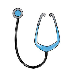 Medical stethoscope equipment medicine diagnosis vector