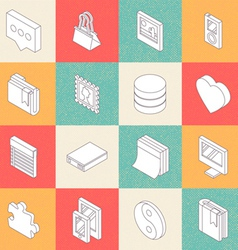 Modern flat icons 5 vector